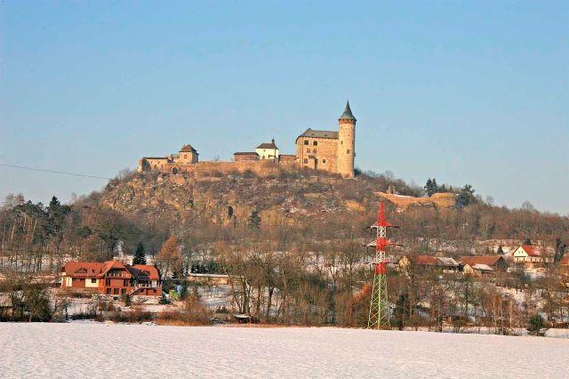 Kunětice Mountain Castle