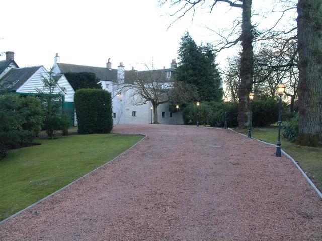 Auchterhouse Castle