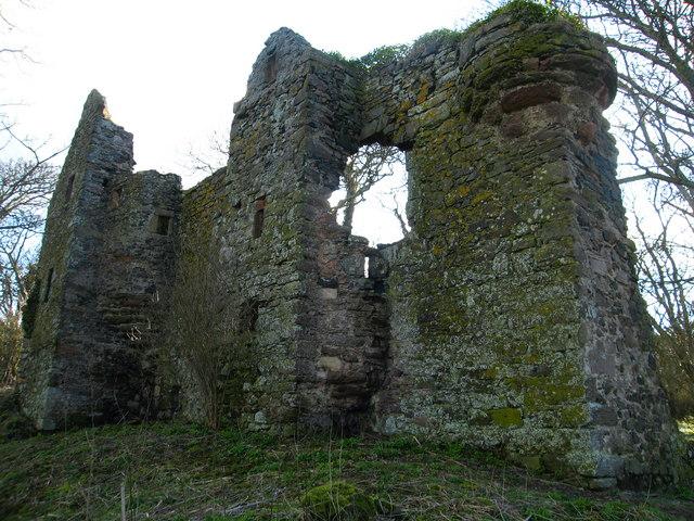 Auldhame Castle