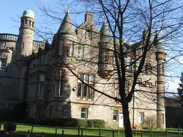 Ballikinrain Castle