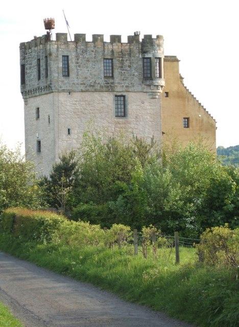 Plean Castle