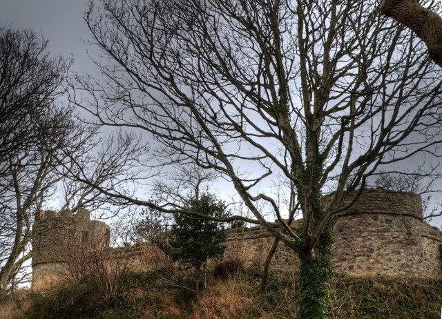 Castell Aberlleiniog